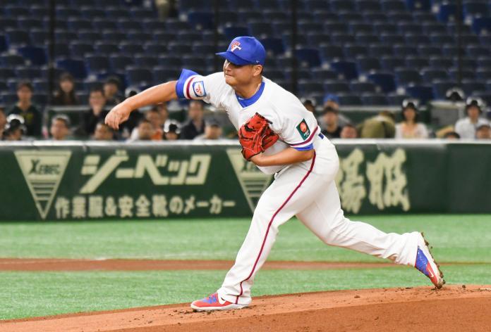 ▲世界棒球12強,中華隊投手胡智為。(圖/記者葉政勳攝)