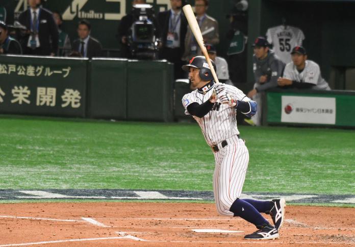 ▲世界棒球12強,日本隊菊池涼介。(圖/記者葉政勳攝 ,