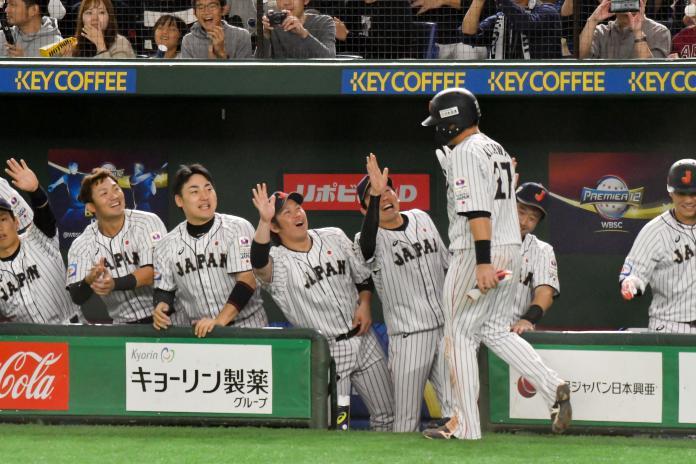 12強/亂打戰日本勝出 明日晚間東京巨蛋再與韓國爭冠