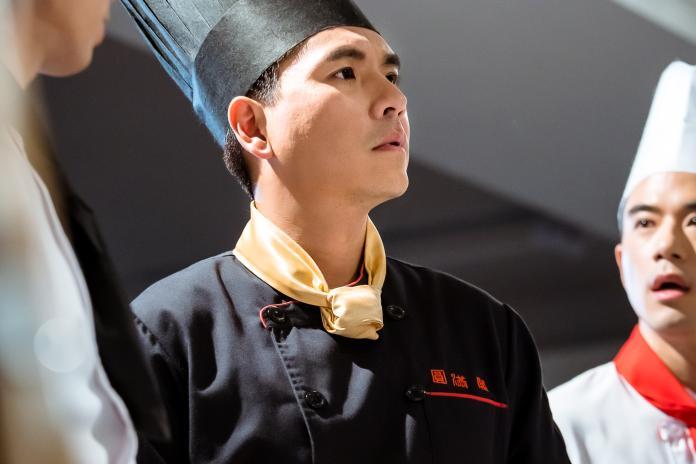 王傳一首次詮釋廚師角色