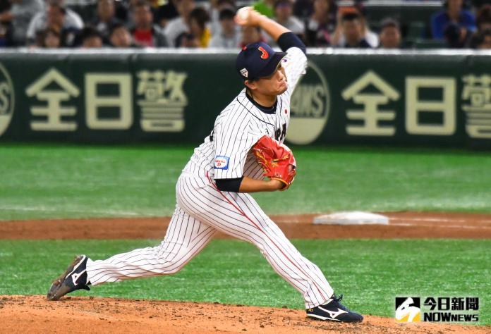 ▲世界棒球12強,日本隊投手田口麗斗。(圖/記者葉政勳