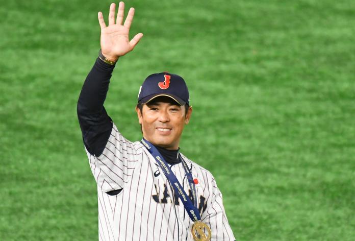 ▲世界棒球12強,金牌由日本隊拿下,日本監督稻葉篤紀賽