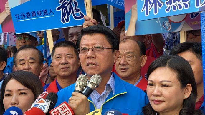 謝龍介表示,選黨主席是既定的事實,不會變;更坦言「國民黨必須改革」。