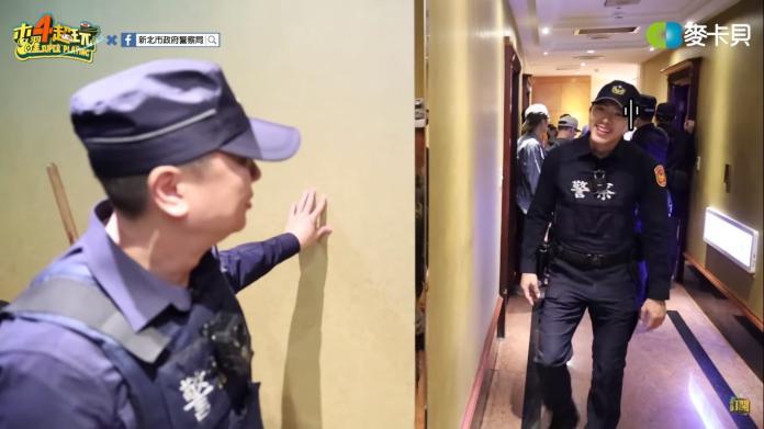 <br> ▲邰智源也因太過害怕,一直躲在角落,讓不少粉絲笑歪。(圖/取自 木曜 4 超玩 Youtube )