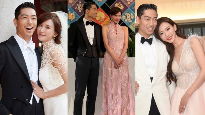 林志玲「嫁給愛情」與AKIRA幸福完婚 六套絕美婚紗揭秘