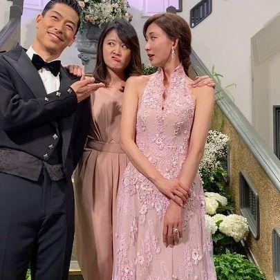 ▲海裕芬參加林志玲與AKIRA婚禮。(圖/IG)