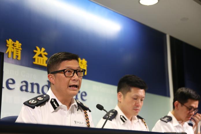 ▲香港新任警務處長鄧炳強(圖/翻攝《香港