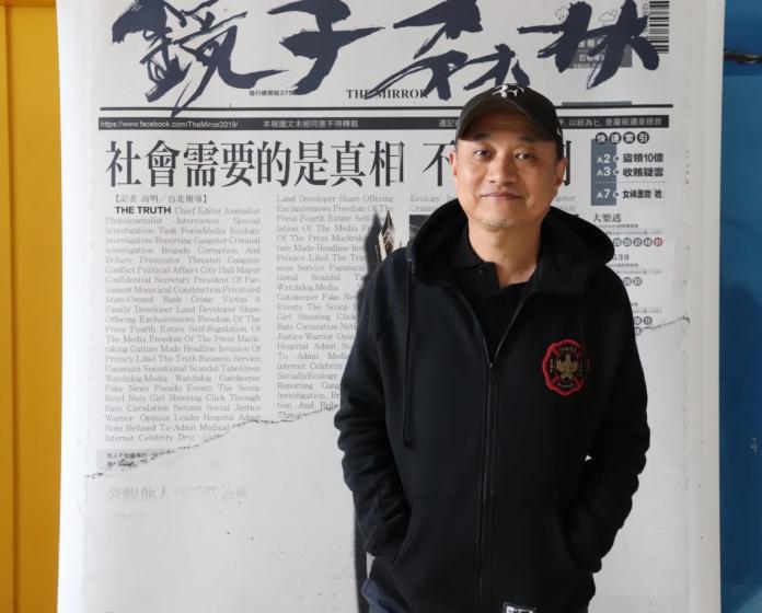 <br> ▲《鏡子森林》導演鄭文堂。(圖/民視提供)