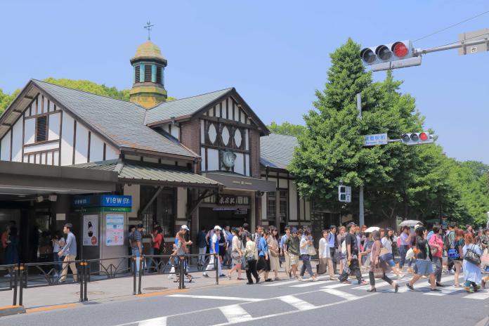 由於原宿車站建築老舊,結構不符合現代建築的防火標準,鐵路株式會社以及當地商會決定將其拆除。
