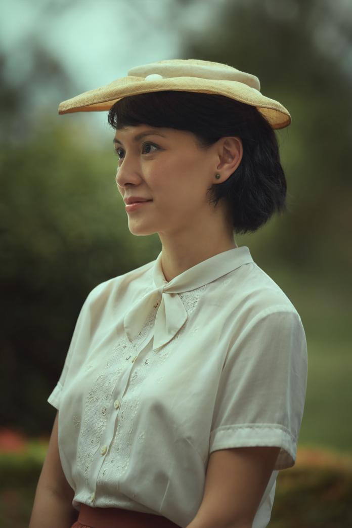 ▲李心潔電影裡的印象,跟她自己差很大。(圖/甲上)