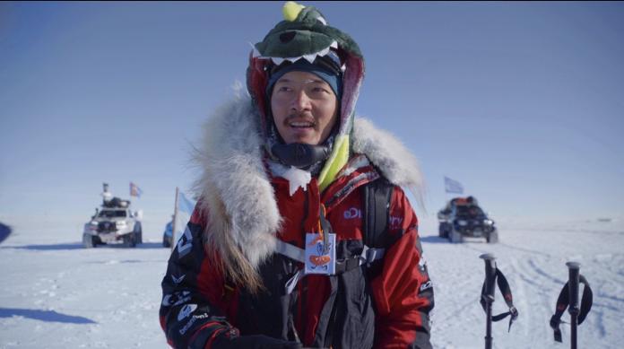 <br> ▲宥勝遠征南極點成功,日前出書《叛逆南極:失敗者的遺言》。(圖/喜鵲娛樂提供)