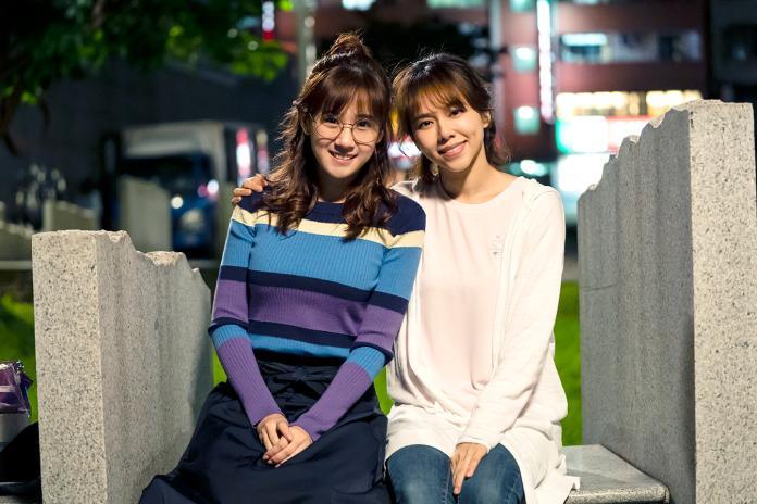 方志友(左)與夏于喬在《天堂的微笑》有精采對手戲