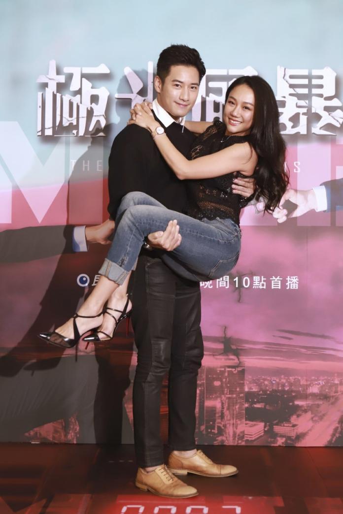 <br> ▲周孝安與王茉聿在劇中是一對。(圖/民視提供)