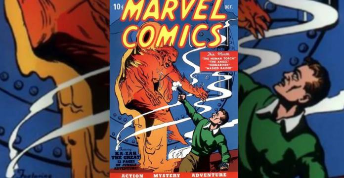▲美國著名超級英雄漫畫發行商漫威(Marvel)出版的首本漫畫,以創紀錄的126萬美元(約新台幣3800萬)落槌拍出。(圖/翻攝 Screen Rant)