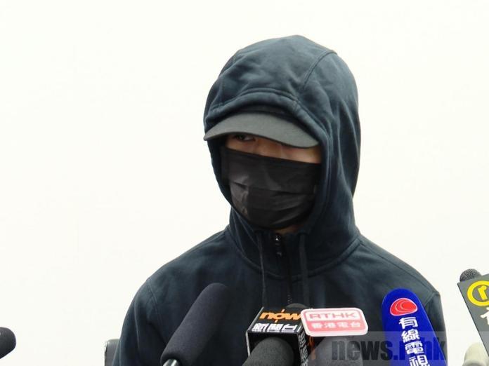 ▲遭港警開槍的 21 歲學生周柏均(圖/翻攝RTHK)