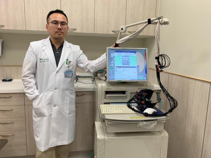 新創近紅外光腦光譜儀 偵測腦功能疾病有八成準確率