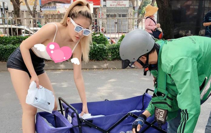 試圖使人分心!越南正妹腰一彎「雪球」乍現 男孩全嗨翻