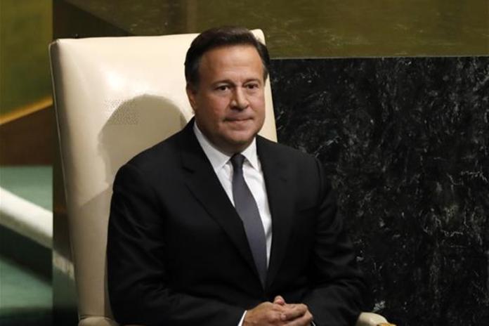 <br> 前巴拿馬總統 胡安·卡洛斯·瓦雷拉(Juan Carlos Varela )。( 圖 / 翻攝新華網 )