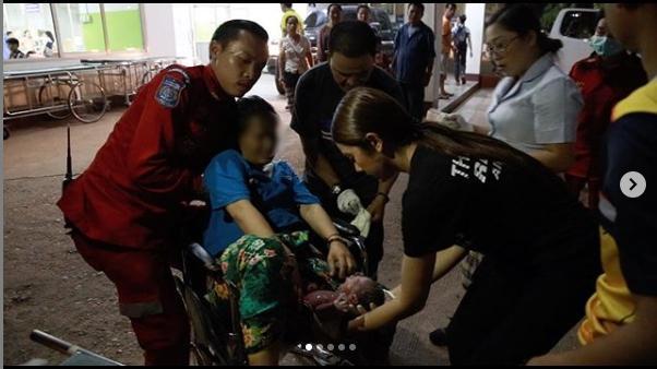 ▲泰國女星是知名公益團體的急救隊的隊員。(圖/翻攝臉IG)