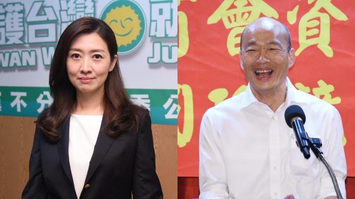 韓國瑜「痔瘡說」 鄧惠文分析:民調像痔瘡讓他坐立難安