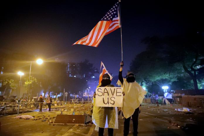 川普簽署《香港人權與民主法案》 陸網友崩潰:關你X事
