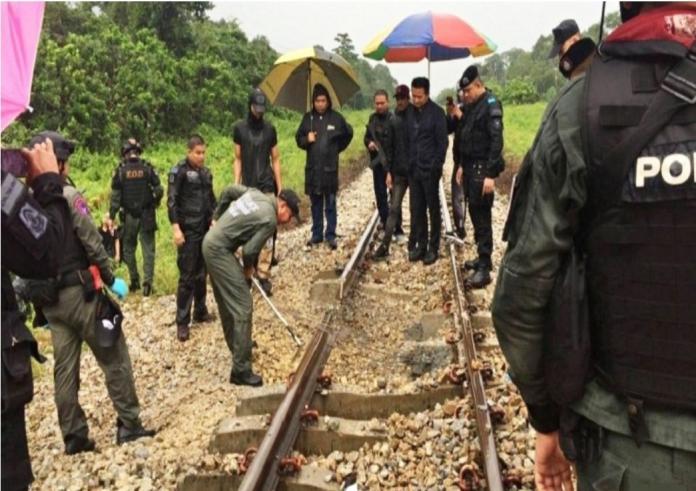 泰國火車有<b>炸彈</b>引爆 目標是開往曼谷的列車