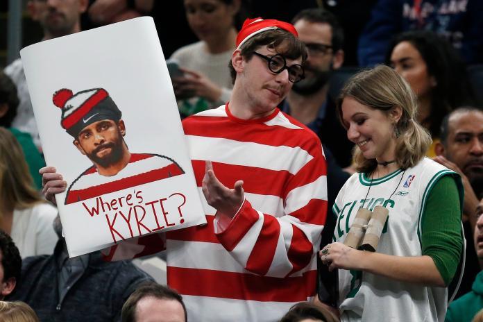 NBA/綠軍主場狂噓厄文 球迷不留情面直言:我們要IT!