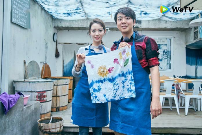 ▲ 朗朗(右)與老婆吉娜感情甜蜜。(圖/WeTV)