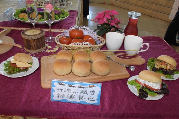 <br> ▲飄香糙纖餐包。(圖/記者陳雅芳攝,2019.11.29)