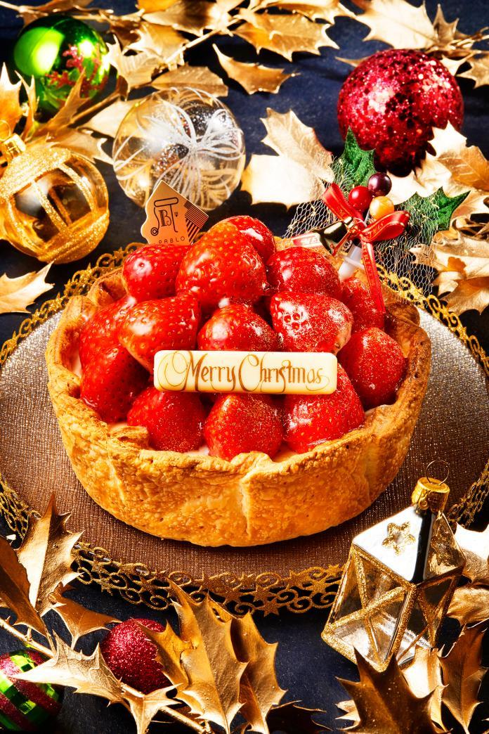 聖誕限定!豪華版草莓起司塔重磅登場