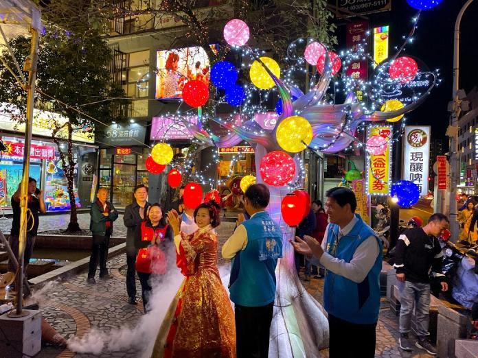 「2019冬戀蘭陽溫泉季」點燈儀式