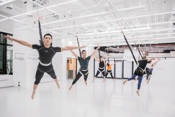 新光也搶攻健身商機 引進360度飛躍健身運動