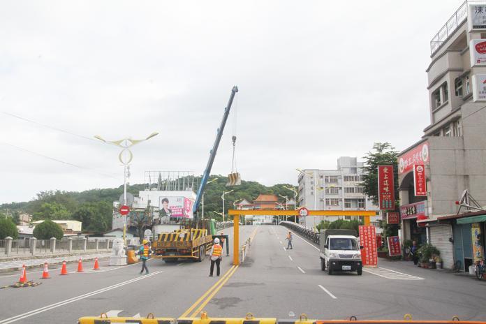 花蓮市尚志橋今封路 主要交通道路暫陷不便