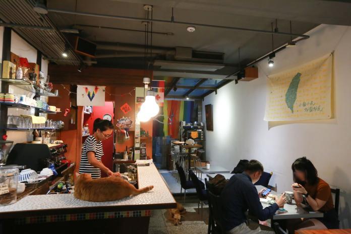 彩虹熄燈/是咖啡店也是家 性別友善空間的保護膜
