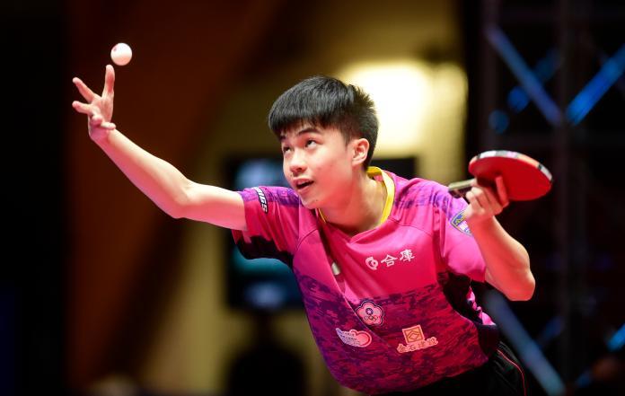 桌球/男子世界盃 林昀儒過頭關8強戰中國球王
