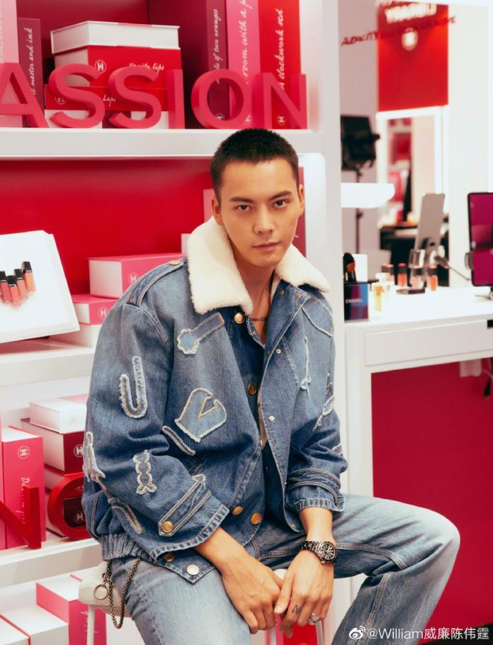 <br> ▲陳偉霆是香港知名男偶像。(圖/微博)