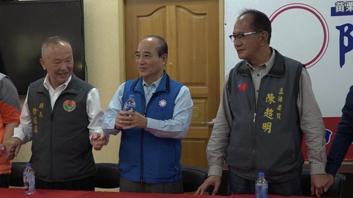 影/絕口不喊韓國瑜凍蒜 王金平:支持韓國瑜做好市長