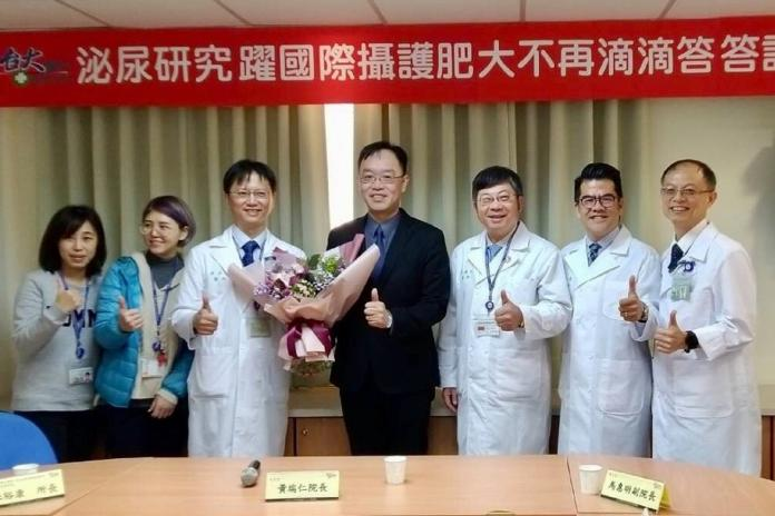 臺大雲林分院醫師 泌尿研究躍國際