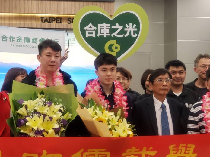 桌球/林昀儒返台合庫接機 12號搭檔鄭怡靜拚奧運資格