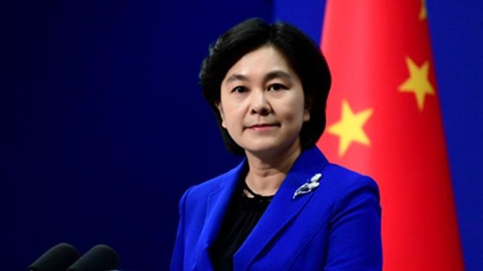 ▲中國外交部發言人華春瑩。資料照。(資料照/取自新華網)