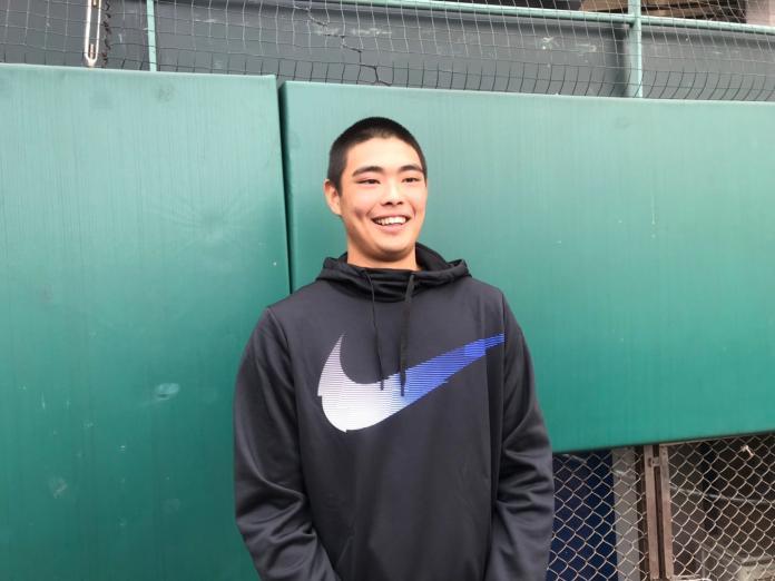 棒球/國中開始參加訓練營 陳柏毓每次感受都不同