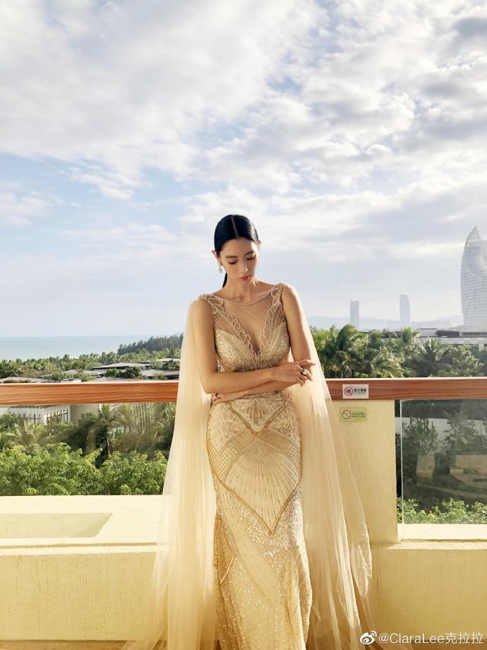 ▲ Clara被評選為評選為「亞洲第1美」。(圖/翻攝微博)