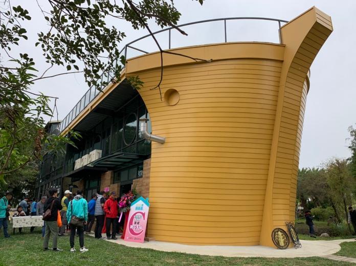 <br> ▲香草山休閒農場內船型的未艾方舟學習教室。(圖/記者陳惲朋攝)