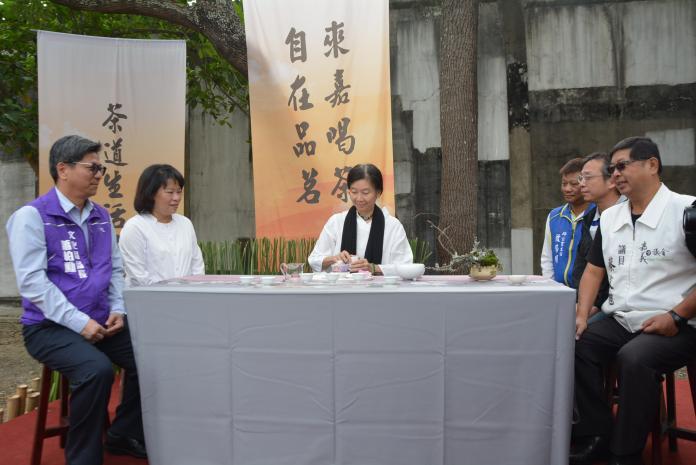 品茗於茶道生活節 體驗百年古蹟溫雅的風韻