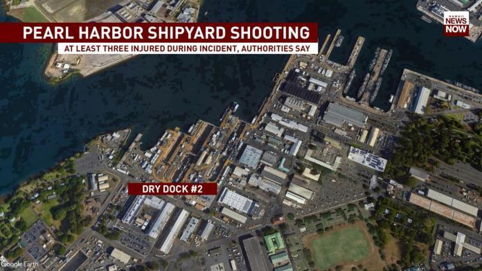 ▲美國夏威夷珍珠港一處軍事基地,當地時間 4 日下午驚傳槍擊。(圖/翻攝自 Hawaii News Now 官網)