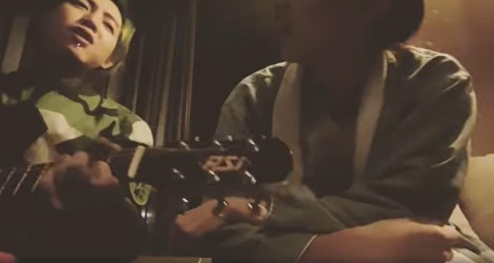 <br> ▲謝和弦與疑似直播主莉婭的女子在飯店聚會。(圖/臉書)