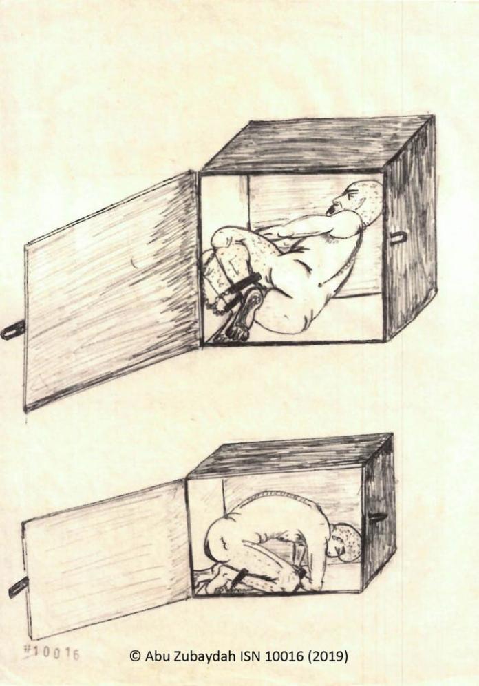 <br> ▲ CIA 將祖布達關進禁閉箱內。(圖/翻攝自《商業內幕》)