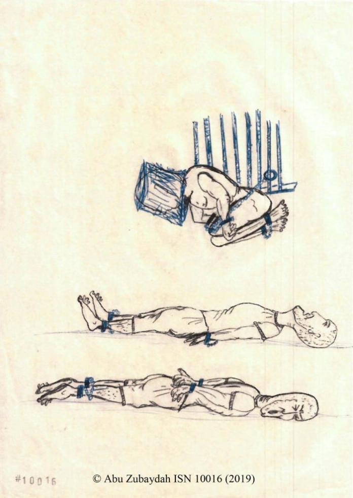 <br> ▲ CIA 將祖布達雙手反銬或是屈身上銬,並且剝奪他的睡眠,每當他快入睡時,審訊人員就會潑水將他弄醒。(圖/翻攝自《商業內幕》)