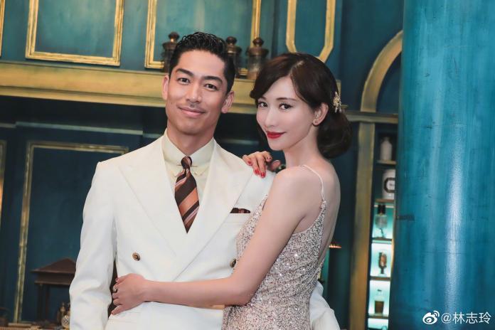 ▲林志玲(右)為了老公,可能隨時會跟粉絲說再見。(圖/翻攝林志玲微博)