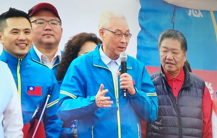 ▲國民黨主席吳敦義。(圖/記者丁上程攝, 2019.12.8)